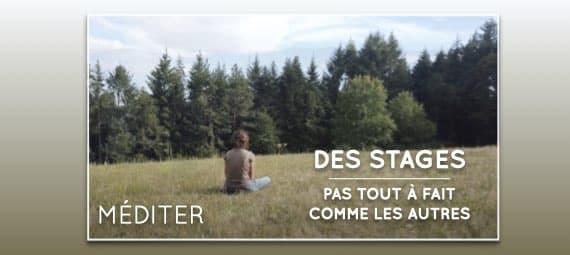 stages de méditation